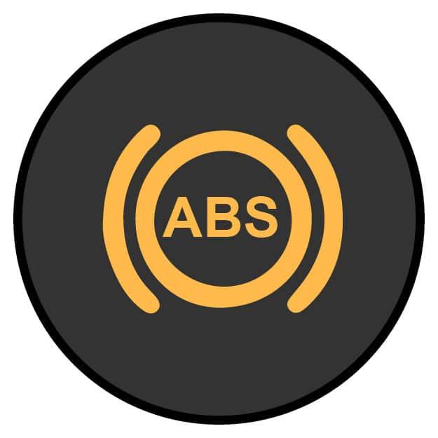 ABS/ANTI-LOCK BRAKE SYSTEM LIGHT