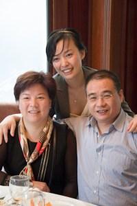 Anna et parents
