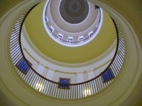The Maine State House Rotunda