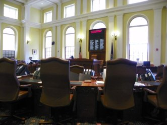 The Maine Senate Chamber