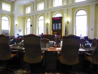 The Maine Senate Chamber