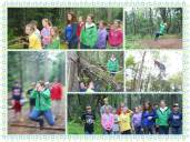 Hannah's collage from Trails camp.
