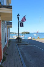 View of the bay from downtown Lubec.