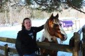 Hannah and pony