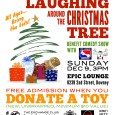 """Downey Arts Coalition and Urban Theatre Movement is sponsoring a benefit comedy & improv show at the Epic Lounge, brought to you by Ivy League Improv, with special guests Cherry Spitz Comedy and more: """"Laughing Around the Christmas Tree."""" Sunday afternoon, December 9th, 3PM. This is an all-ages show, so bring the family. The cover […]"""