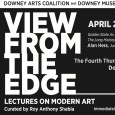 """Alan Hess, an architect and historian will speak this Thursday, April 25 at the Downey City Library as part of """"View From the Edge,"""" a lecture series on modern art. Hess will speak about """"The Long History of Modernism in California,"""" featuring mid-century architecture, which Downey is known for. The lecture series, curated by Roy […]"""
