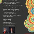 The Downey Symphonic Society presents ¡Viva la Música! October 20th, 2018 at the Downey Theatre. With an American premiere by composer Oscar Navarro, who composed the official symphony of the city of Downey, the Downey Overture. Clarinetist David Van Maele will perform the Clarinet Concerto no. 3. Also performances of influential pieces by Latin composers […]