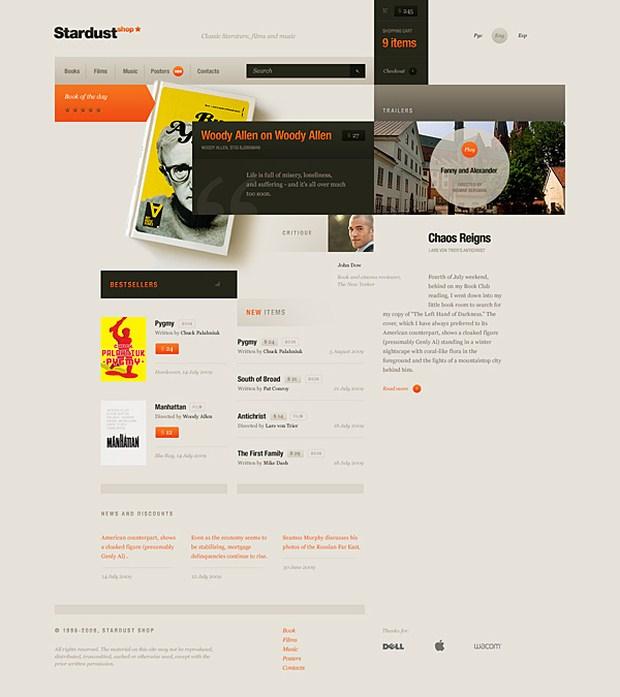 Weekly Web Design Inspiration 17 By Raymon Schouwenaar