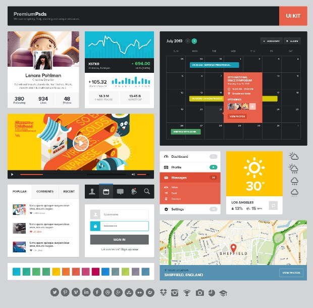 free ui kits for_designers_18