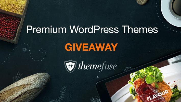 Giveaway Win a ThemeFuse Premium Theme