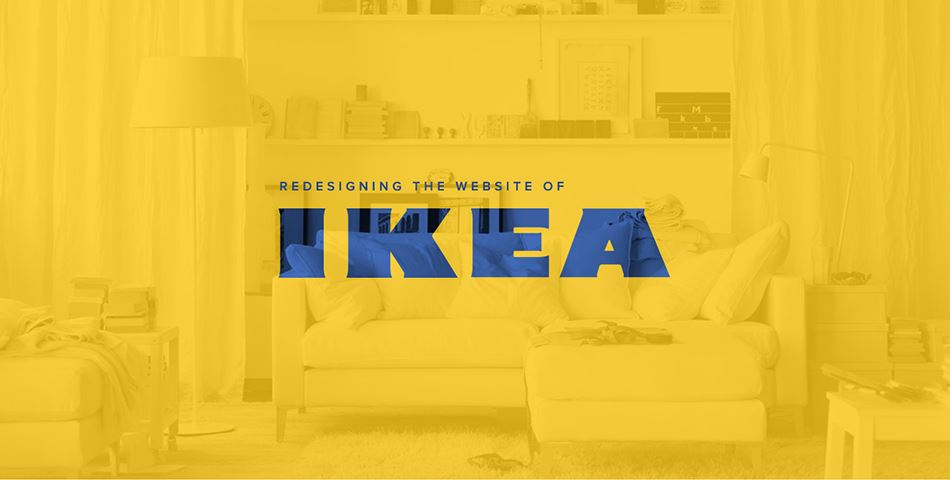 IKEA Web Redesign UI And UX Design