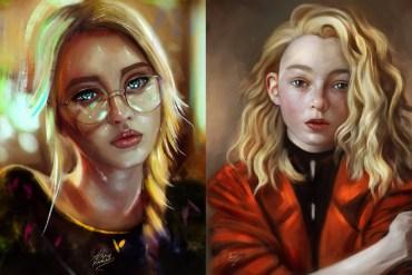 Digital Illustrations and Painting Art