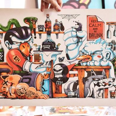 Handmade-Artworks-Illustration