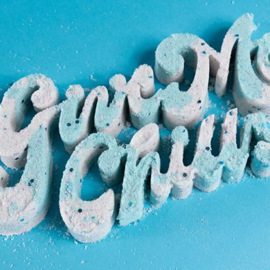 Brilliant Food Typography by Danielle Even