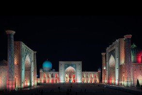 Uzbekistan Architectural Photography