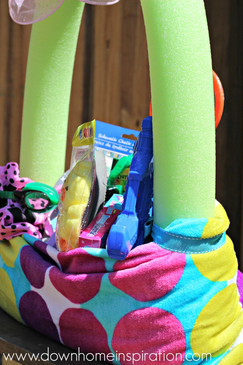beach-towel-pool-noodle-easter-basket-4