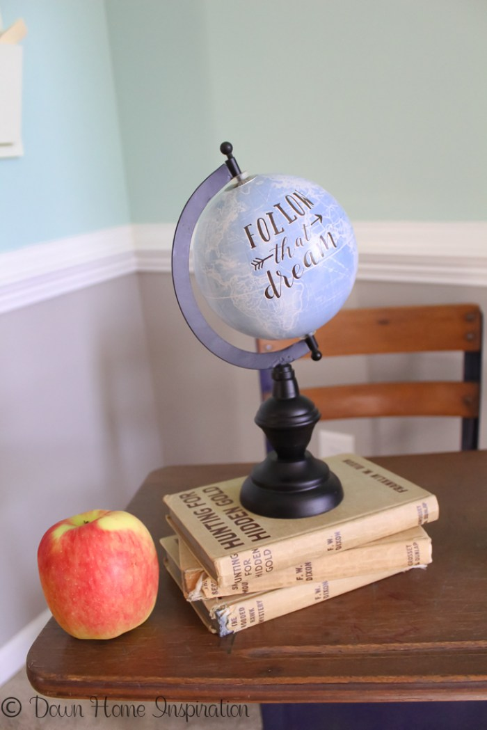 teachers gift personalized globe