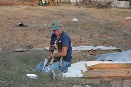Little Lady rescued from Joplin Tornado