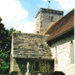 Edburton church porch