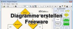 Diagram Designer: Organigramme oder Flussdiagramme erstellen