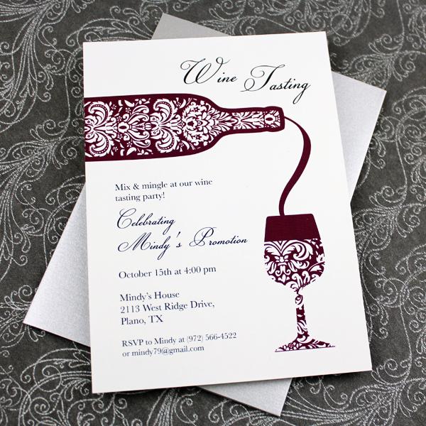 Wine Tasting Invitation Template