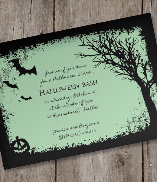 Downloadable Halloween Invitation Templates