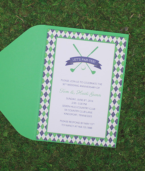 Golf Clubs Invitation Template Download Amp Print