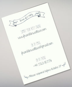 Doodle Love Wedding Rsvp Card Template From Print Printable Invitation