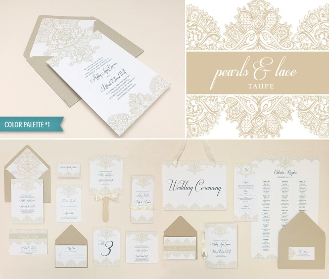 Graceful Fl Botanical Elegant Wedding Invitations In Taupe By Jessica Williams