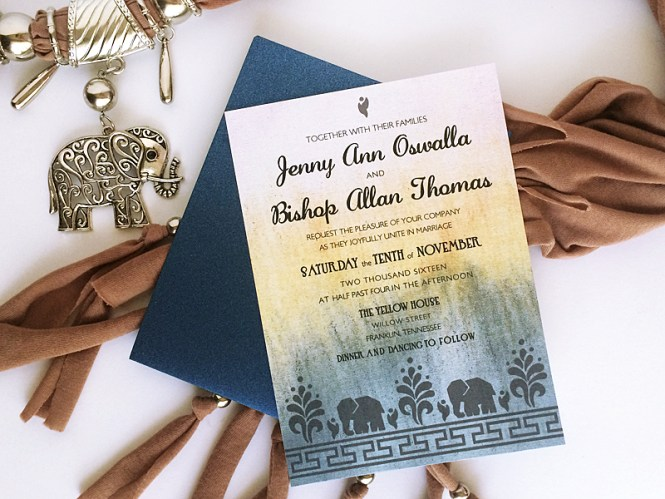 Indian Wedding Invitations To Inspire You On How Create Your Own Invitation 3