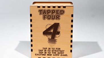 tapped four