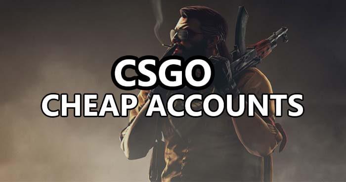 csgo cheap accounts
