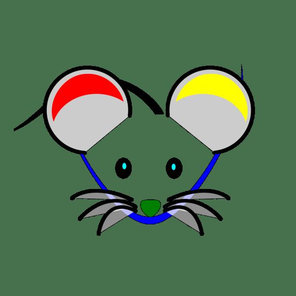 Clip Net Art Mosquito Head