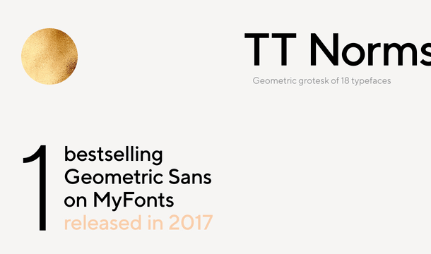 TT Norms Font Free