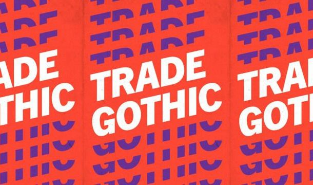 Trade Gothic Font Free
