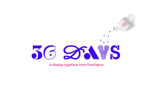 36 Days Font Family