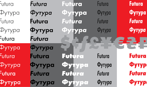Futura PT Font Family