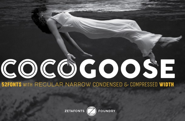 Cocogoose Font Family