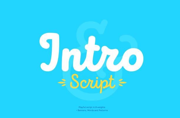 Intro Script Font Free