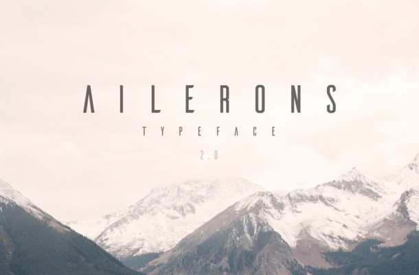Ailerons Typeface Free