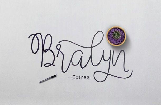 Bralyn Script Font