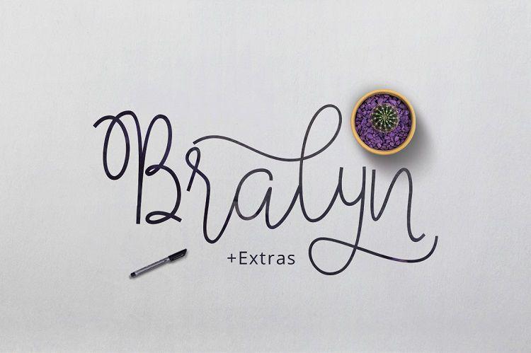 Bralyn Script Font-1