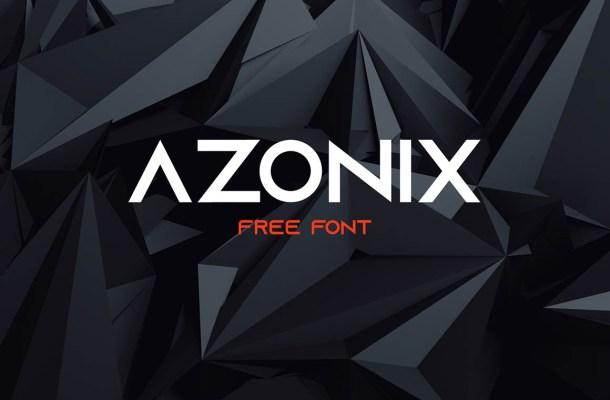 Azonix Typeface Free