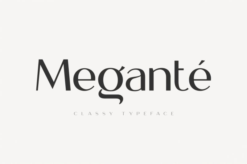 megante-display-font-1