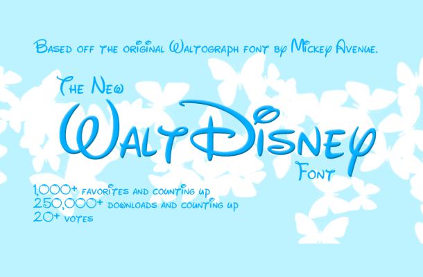 New Waltograph Font Free