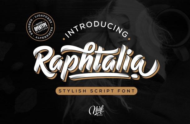 Raphtalia Font Free