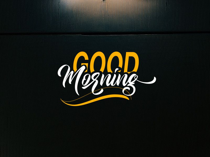 Good Morning Font-1