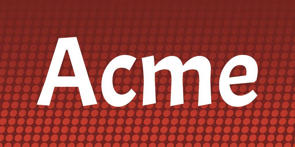 acme-font