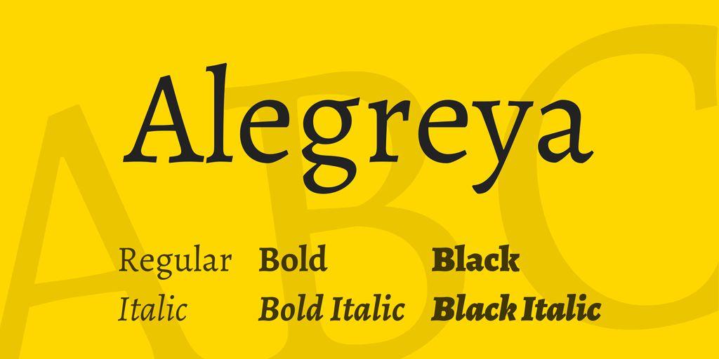 alegreya-font