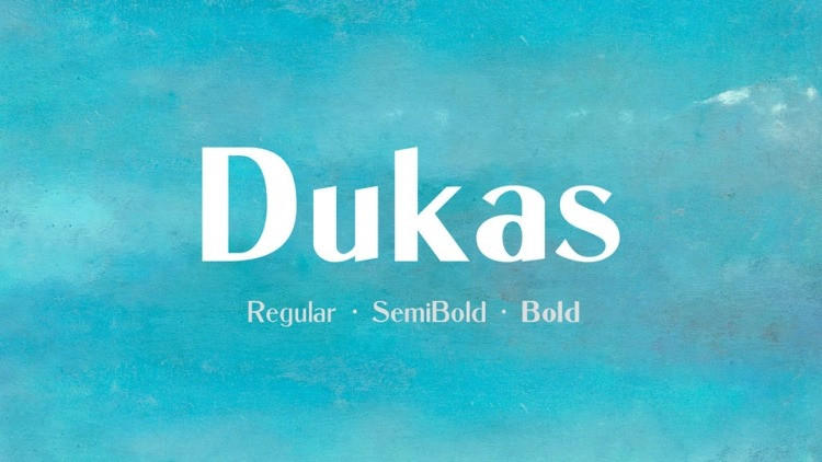 dukas-font